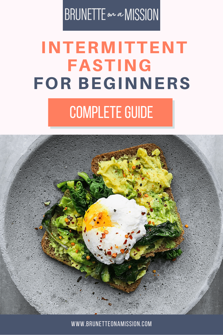 Guide to Intermittent Fasting for Beginners - Avocado toast with egg on a plate.